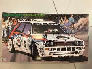 Lancia Super Delta WRC 模型車
