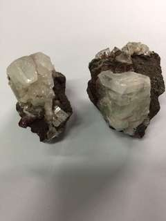 AAAAA Super Rare High Quality Mysterious 'Unknown' Crystal Pair