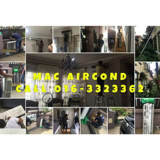 Aircond Service/Installation/Repair KL & Selangor PROMOTION NOW !!!!!