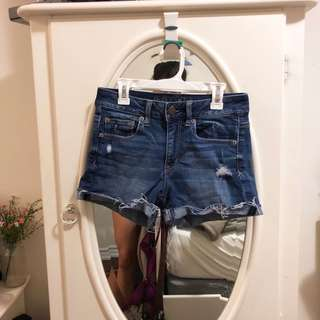 American Eagle Denim Shorts size 4
