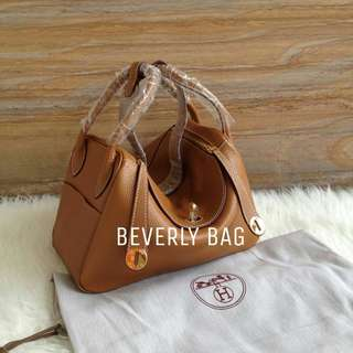 jual tas Hxx mes Lindy LEATHER MIRROR - camel