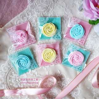 法式玫瑰馬林糖
