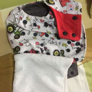 Cloth Diaper With Lining At $10 Each