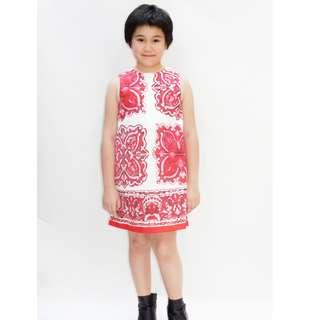 Ethnic print dress