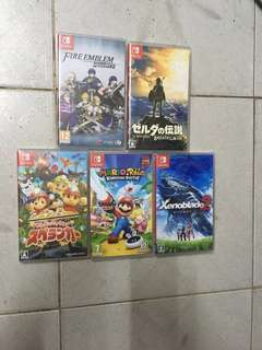 Switch game (5隻)