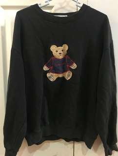 Black Burberry Sweater