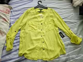 Neon Yellow-Green Top