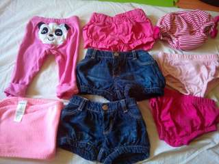 Short & panty for baby 0-6months