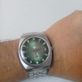 70's Ricoh Vintage Men's Watch like Seiko Oris Citizen Omega Bulova Tissot Rado Longines Tudor