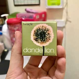 (NEW) BENEFIT DANDELION BLUSH mini (3.5g)
