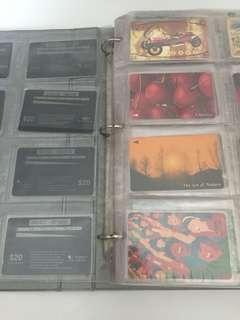 Rare Vintage Singapore Phone Card Face Value $10,$20 (129pcs) & Brunei , Thailand ,Malaysia Phone Card ( 97pcs) . Total 226pcs