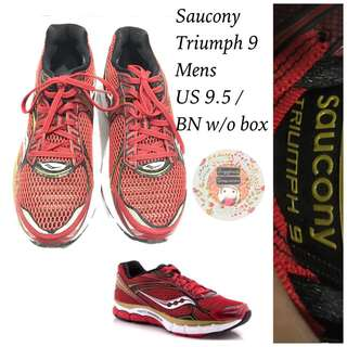 Auth. BN w/o box Saucony Mens Triumph 9 Powergrid Running Shoes