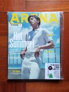 ARENA HOMME+ ~ JYH Cover
