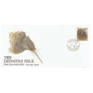 NZ 1989 Definitive Issue (NZ$10)
