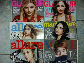Women's Magazines | Php 50 each