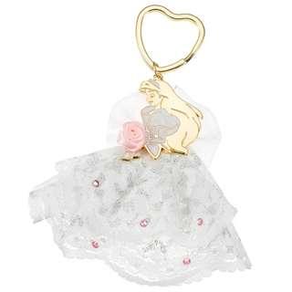 日本 Disney Store 直送 The Little Mermaid 小魚仙 Ariel 婚紗掛飾匙扣