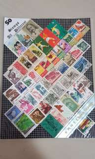 Collection 2 - 50 Old China Stamps