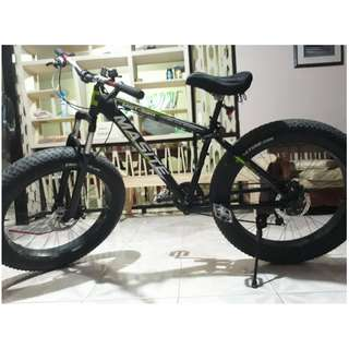Fat Bike Alloy Frame