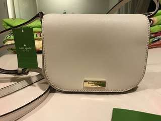 Kate Spade brand new white sling bag
