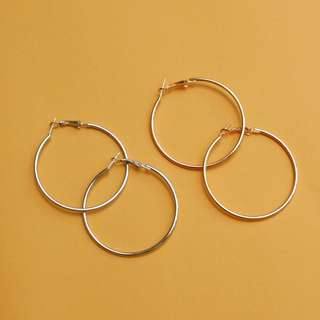 HOOP EARRINGS 5cm