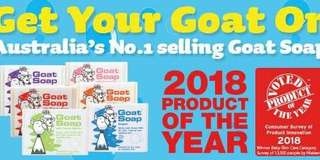 "Andito na sa Lipa ang No. 1 selling ""goat soap"" sa  Australia.😍 (made with certified organic ingredients ) Pm your orders now.😊 FYI: Ito po ang aking personal na sabon sa ""face at body"". Kaya highly recommended!👍"