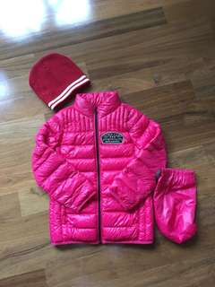 Winter Jacket (girls size 120)