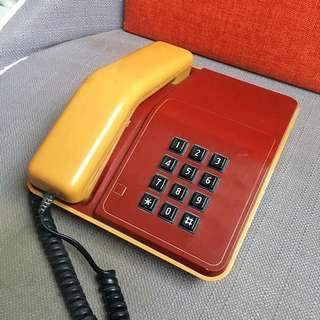 Singapore Telecoms 1980s Telephones for sale! Vintage Classic