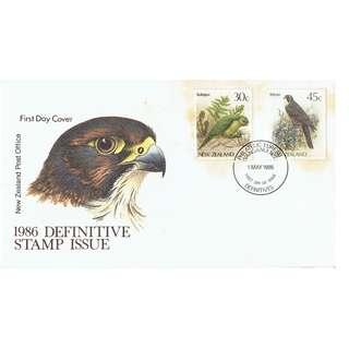 NZ 1986 Definitive Stamp Issue
