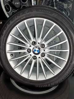 BMW F30 ORIGINAL SPORT RIM WITH TYRES