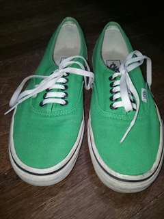 Green Vans Shoes