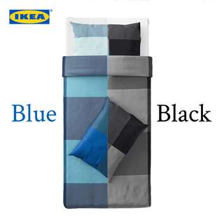 IKEA BRUNKRISSLA Quilt & Pillow Cover (Single)