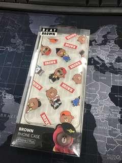 Line Bear - Brown iPhone case 7+/8+