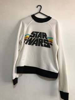 F21 STAR WARS GRPAHIC SWEATER