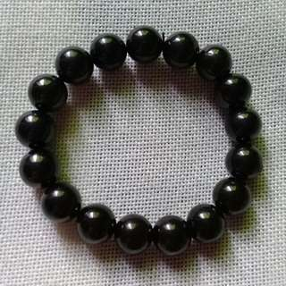 Jet protection bracelet 12mm