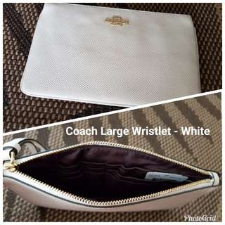 Coach Large Wristlet