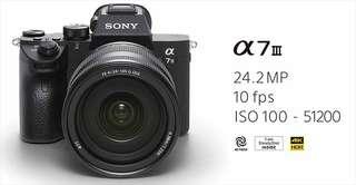 Sealed New Sony A7III A7 Mark 3