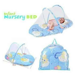 💋 BABY BED        2COLORS ONLY       PINK/BLUE       250PHP         #RC