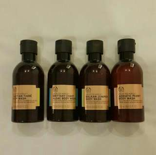 The Body Shop - Spa of the world body wash colection ( harga satuan )