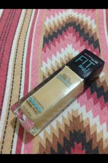 Fit Me Matte Poreless- 128 Warm Nude