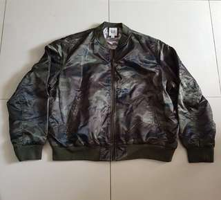 Jacket bomber wanita gap original