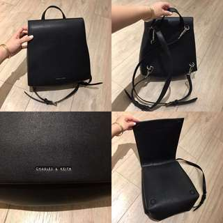 Charles & Keith Backpack in Black