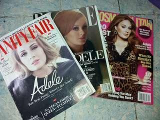 Bundle - Adele Magazines