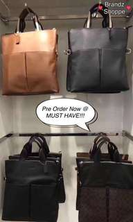 💥NEW! Coach Men Leather Sling / Messenger / Crossbody Bag (Pre-Order Now)!!!