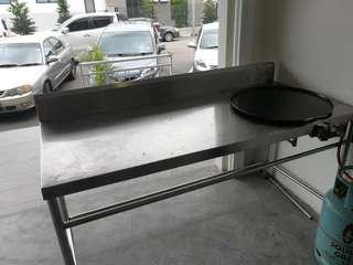 Roti canai table