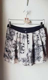 Topshop silky pant swallow tattoo