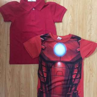 Bundle Red shirts