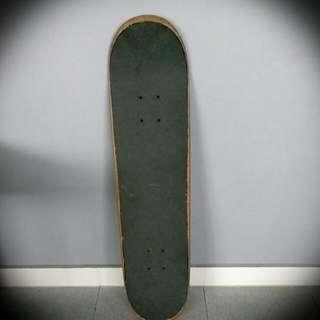 Powell Plain White Skateboard Deck