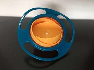 BN Spill Proof Rotate Bowl (Green)