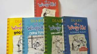 Diary of wimpy kid set
