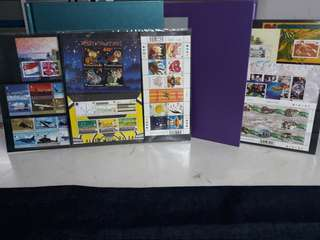 Singapore stamps. First day cover collection album